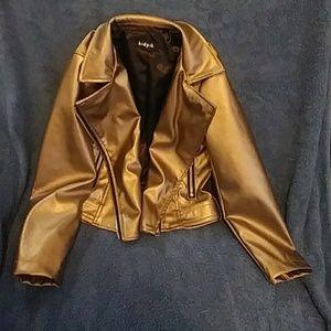 Toddler girl bomber style jacket